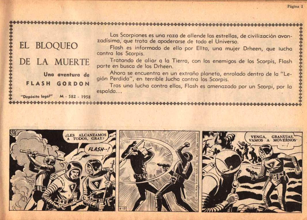 FLASH GORDON ALBUM DE LUJO Nº 3
