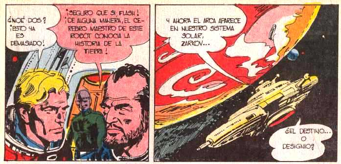 FLASH GORDON EN COLOSOS DEL COMIC Nº 36