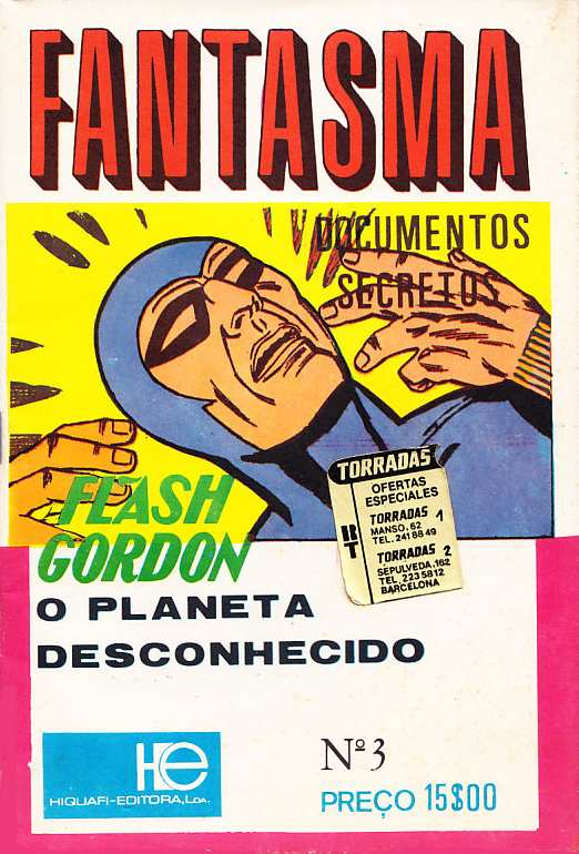 FLASH GORDON EN FANTASMA (PORTUGAL)