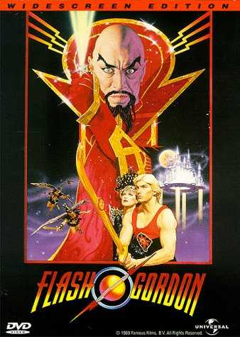 CARATULA DVD DE FLASH GORDON