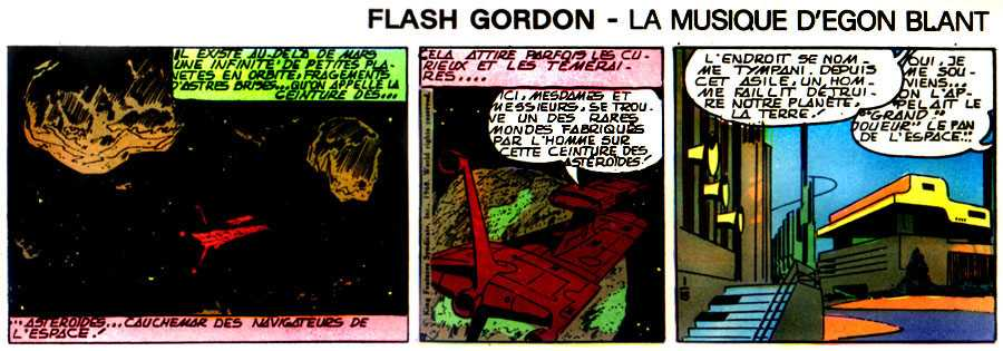 FLASH GORDON EN FRANCIA