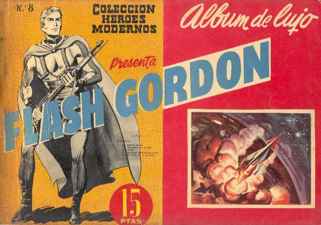 FLASH GORDON ALBUM DE LUJO Nº 8