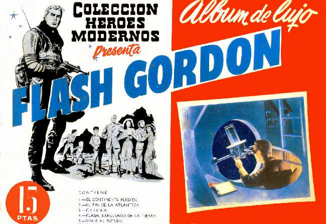FLASH GORDON ALBUM DE LUJO Nº 1