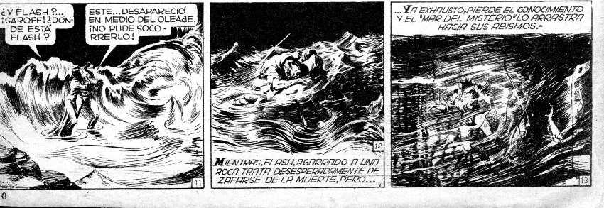 FLASH GORDON EN LA REVISTA PATUROZITO