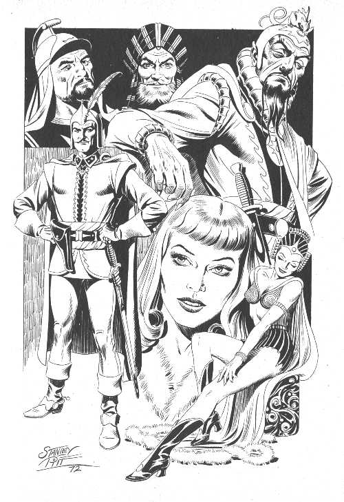 FLASH GORDON BY STANLEY PITT