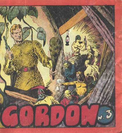 FLASH GORDON. ALBUM ROJO