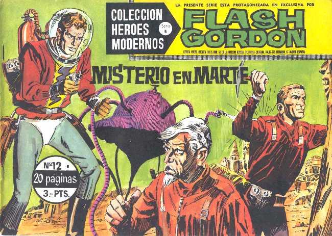 FLASH GORDON N.12 DE HEROES MODERNOS DOLAR SERIE B