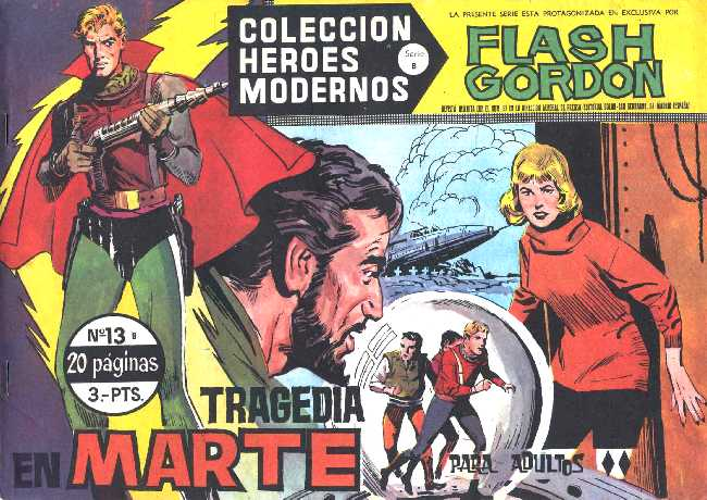 FLASH GORDON N.13 DE HEROES MODERNOS DOLAR SERIE B